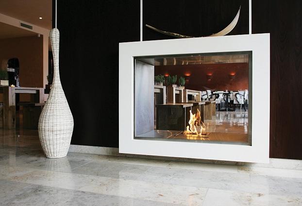 注目の製品・素材11: 暖房の新たなかたち「バイオエタノール暖炉」 製品情報 商店建築ブログ